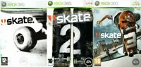 Skate Xbox 360 2 3 - Excellent - Same Day Dispatch Super Fast Delivery