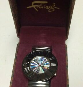 New old stock Faberge womens watch, extra large flashy dial, contemporary hands