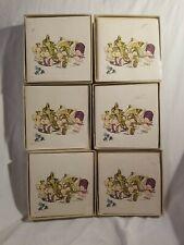 Kewpie Notes (10) & Envelopes Kewpie Doll Vintage nos Lot Of 6. New Mint Unopene