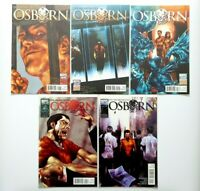 Marvel Comics Evil Incarcerated Osborn Completed Series #1 #2 #3 #4 #5 MC22