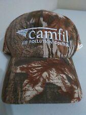 Camfil Air Pollution Control Camo Baseball Cap New Mossy Oak