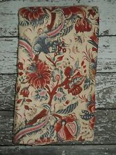 POTTERY BARN Jordan Palampore Duvet Cover Floral Tan Red Blue King Size NWOT