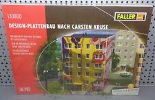 Faller H0 130800 Design-Plattenbau nach Carsten Kruse    NEU & OVP