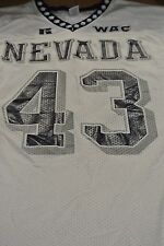 Nevada University Game Used Football Jersey Size 46 #43