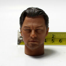 "1/6 Scale Inception Leonardo Closed Eyes Head Sculpt For 12"" Figure Body"
