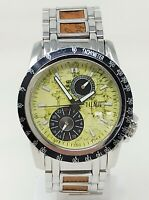 Orologio Alviero Martini pch 687 men's watch 42 mm montre stainless steel clock