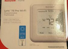 NEWHoneywell TH6220WF2006 T6 Pro WiFi Programmable Touchscreen Smart Thermostat