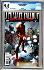 ULTIMATE FALLOUT #4 1st print CGC 9.8 1st Miles Morales Spider-Man 2011 WP