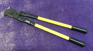 """Klein Tools 63040 1-3/8"""" Cap. Lineman's Industrial High Leverage Cable Cutters"""
