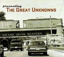 THE GREAT UNKNOW- PRESENTING THE GREAT UNKNOWNS - CD (OTTIME CONDIZIONI)DIGIPACK
