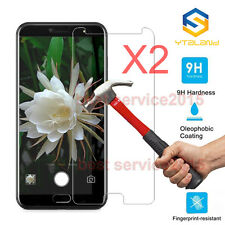 2Pcs 9H+ Premium Tempered Glass Film Screen Protector For UleFone T1 5.5inch