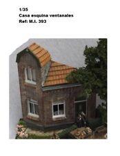 WWII CASA PARA DIORAMA house corner tower windows 1/35 accessories