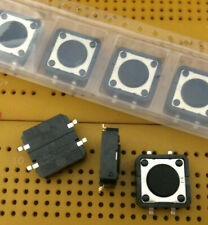 Tactile Switch 50mA SPST Off-(On) 12mm Momentary Action SMD Omron B3FS-4002P