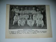 Montreal Royals 1923 Team Picture Izzy Hoffman John Jones