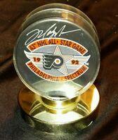 MARK MESSIER SIGNED 43 RD NHL ALL STAR GAME 1992 PHILADELPHIA SPECTRUM GAME PUCK