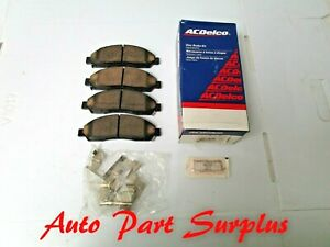 ACDelco front disc brake pads. 04-08 Colorado Canyon, 06-08 Isuzu i-290, i-370