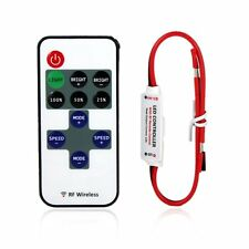 Lerway Mini LED Controller Dimmer with RF Wireless Remote Control DC 5~24V 12A