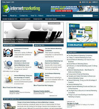 INTERNET MARKETING BLOG WITH UK AFFILIATE STREAMS - FREE DOMAIN + HOSTING