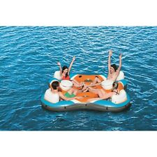 Bestway Rapid Rider 4-Person Floating Island Raft w/ Coolers (Used)