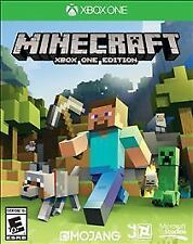 XBOX One 1 Minecraft Mine Craft NEW Sealed Region Free USA plays on all consoles