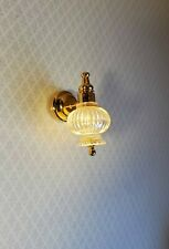 Dollhouse Miniature LED Battery Light Large Wall Sconce 1:12 Scale