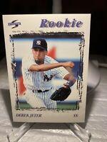 1996 96 Score Derek Jeter Rookie RC #240, New York Yankees Ding PWE Tracked