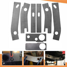 8 Frame Repair Rusted Shackle Weld Plate Fit For 1986-1995 Jeep Wrangler YJ Rear