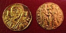 22 Karat Solid Gold Christ Coin Byzantine-style Half Tremissis DISCONTINUED TYPE