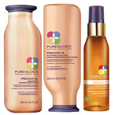 Pureology -Precious Oil -Shampoo 250ml + Conditioner 250ml +Versatile Caring oil