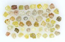 Natural Loose Diamonds Mix Fancy Color Rough I3 Clarity 2.00 Ct Lot NQ27