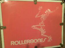 Rollerbones Pink Skate Case Vintage June 1980 Used 15.5�x 6.5�