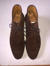 Foster and Son Studley Brown Suede Chukka Boot UK8.5E (US9D) like Edward Green