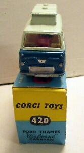 Corgi Toys 420 Ford Thames Airborne Caravan,      original
