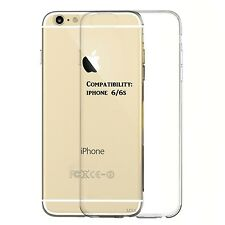 Crystal Clear Case for Apple iPhone 6/6S Strong Soft Surface