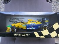 MSC Schumacher F1 Benetton Ford B191 1:18 MINICHAMPS NEW & OVP!