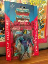 Neues AngebotGERMAN SKELETOR vintage Masters of the universe 1983 NEU OVP MOC Mattel EU Maske