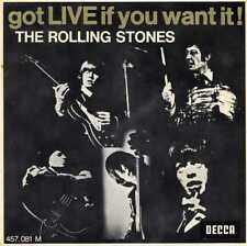 "ROLLING STONES ""GOT LIVE IF YOU WANT IT"" RE FR EP 7/71 RARE"