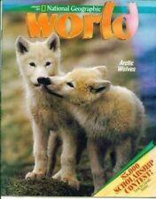 National Geographic World Magazine 1992 January