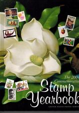 USPS 2004 Commemorative Year Set collection of  83 stamps with Hard Cover book