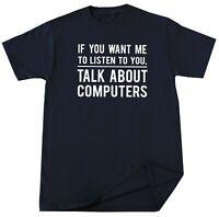Computer Guy Birthday Christmas Gifts Funny Geek Nerd Humor Computer T Shirt Tee