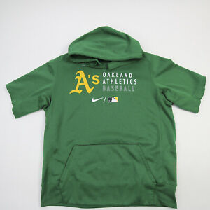 Oakland Athletics Nike Sweatshirt Men's Green Used
