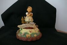 New ListingHummel Goebel~ For Mother ~#257 Tmk#5 ~Wishes for Mother~Music Box w/Boxes