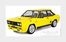 FIAT 131 Abarth Stradale 1976 Yellow LAUDORACING 1:18 LM109C