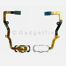 Silver Home Button Flex Cable Replacement Parts For Samsung Galaxy S7 Edge G935