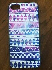 Retro vintage Aztec Geometric tribal Hard Case Back Cover For iPhone5&5S