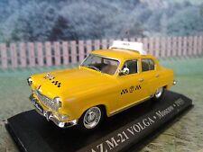 1/43 Altaya  Volga GAZ-21 Moscow  Taxi