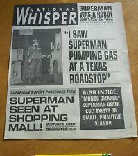 1993 Superman returns newspaper promo National Whisper