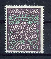 CHECOSLOVAQUIA CZECHOSLOVAKIA 1967 SC.1474 MNH Prague Music Festival