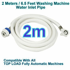 2 Meters 6F Water INLET HOSE PIPE For Fully Automatic Washing Machine Universal