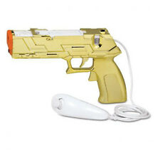 Quick Shot Plus Light Gun for All Shooting Games Nintendo Wii / Wii U - Gold